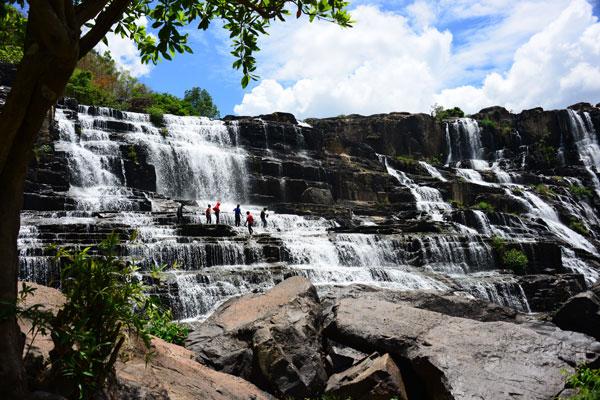 Водопад Понгур (Pongour)